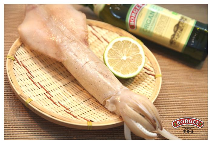 橄欖油推薦食譜: 燒烤小卷、小卷沙拉