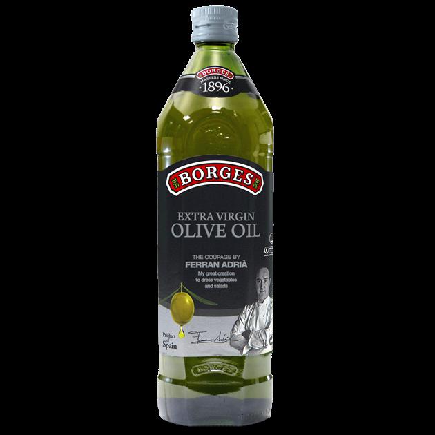 名廚嚴選橄欖油1L-米其林三星名廚Ferran Adrià嚴選三種頂級橄欖果,100%第一道初榨冷壓,果香馥郁且口感和諧滑順。 1
