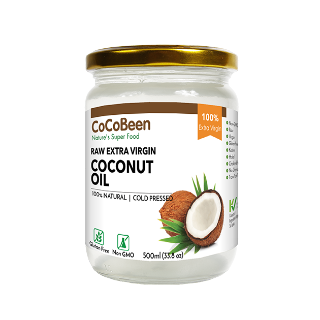 斯里蘭卡CoCoBeen初榨冷壓椰子油 - 100%斯里蘭卡原裝原瓶進口, 富含MCT中鏈脂肪酸, 生飲、烹調萬用初榨冷壓椰子油。 1