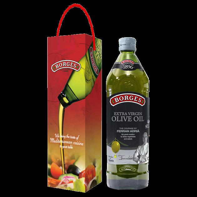 名廚嚴選橄欖油1L-米其林三星名廚Ferran Adrià嚴選三種頂級橄欖果,100%第一道初榨冷壓,果香馥郁且口感和諧滑順。 2