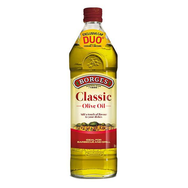 中味橄欖油 1公升-百格仕西班牙橄欖油推薦油品,油性安定油煙少,西班牙橄欖油網路推薦廚房料理最佳選擇。 1