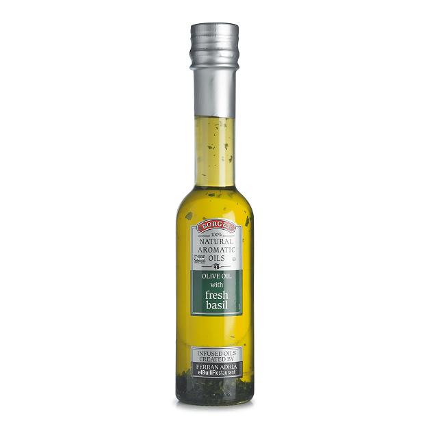 新鮮羅勒橄欖油(FRESH BASIL)-百格仕西班牙橄欖油推薦最佳選擇,米其林三星名廚Ferran Adrià嚴選,帶有天然羅勒香氣的橄欖油。 1