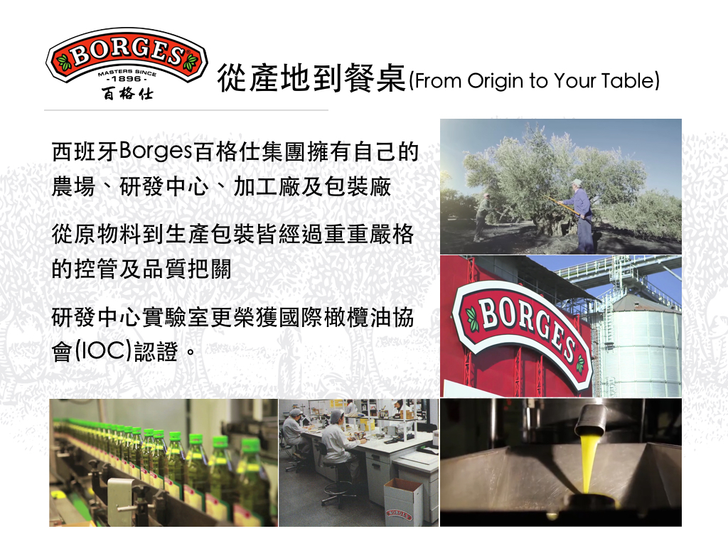 從產地到餐桌(From Origin to Your Table)