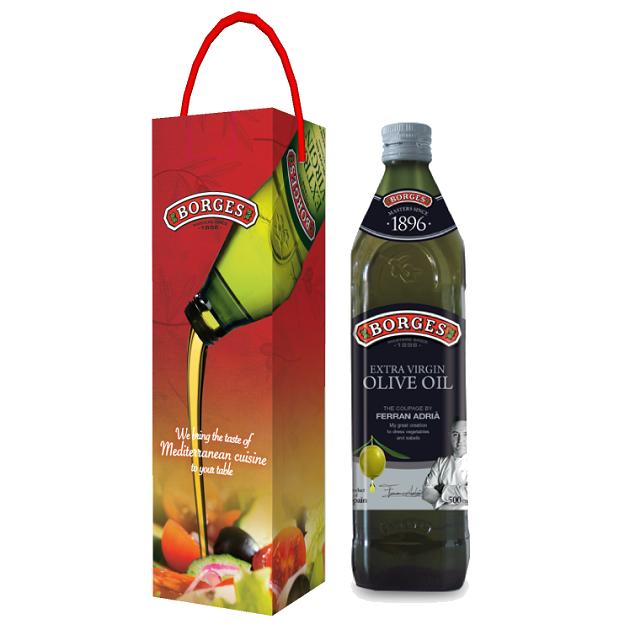 【售完】名廚嚴選橄欖油500ml-米其林三星名廚Ferran Adrià嚴選三種頂級橄欖果,100%第一道初榨冷壓,果香馥郁且口感和諧滑順。 2