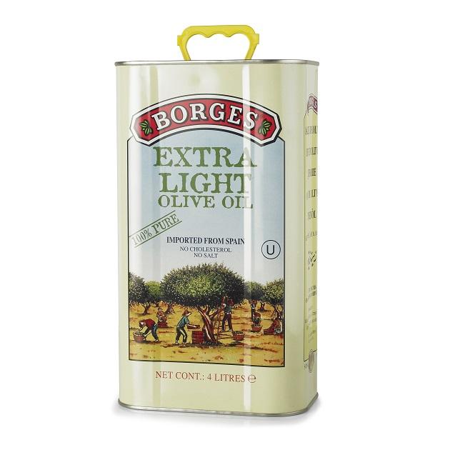 淡味橄欖油4L-100%純橄欖油,果香清爽淡雅,適合煎煮炒炸等各種烹調方式,油性安定耐高溫,4公升裝適合經常下廚的家庭、餐廳。 1